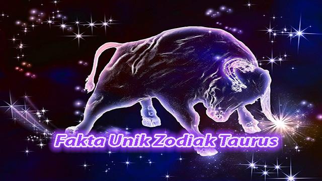 Fakta Unik Dari orang Berzodiak Taurus