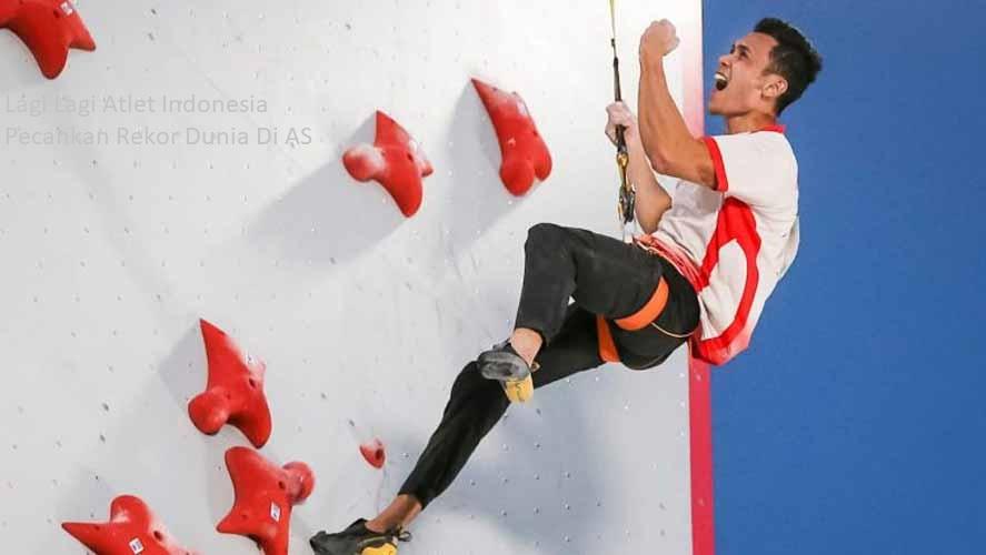 Lagi Lagi Atlet Indonesia Pecahkan Rekor Dunia Di AS