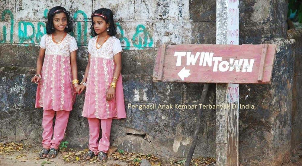 Penghasil Anak Kembar Terbanyak Di India