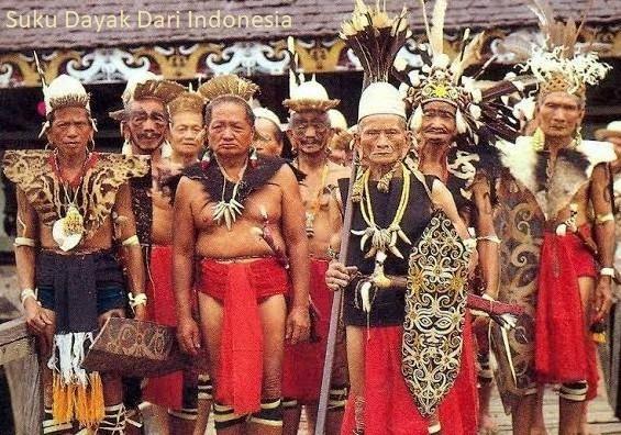 Suku Dayak Dari Indonesia